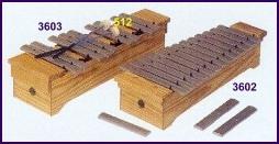 Samba 3601 diatoninen sopraano metallofoni c2-a3
