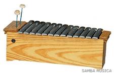 Samba 361 diatoninen altto metallofoni c1-a2