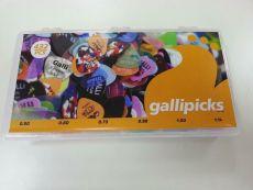 Galli 130432 432 kpl boxi/lajitelma Formula Delrin plektroja