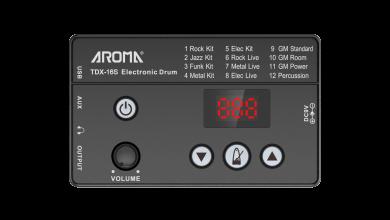 Aroma TDX-16 sähkörummut