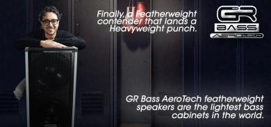 GRBass CUBE AT800 AeroTech combo