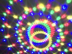 Upea Beam Astro LED-pallo kaukosäätimellä