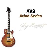 Samick Greg Bennet Avion AV-3 sähkökitara