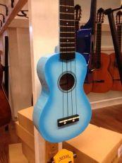 Noir NU-1S blueburst ukulele