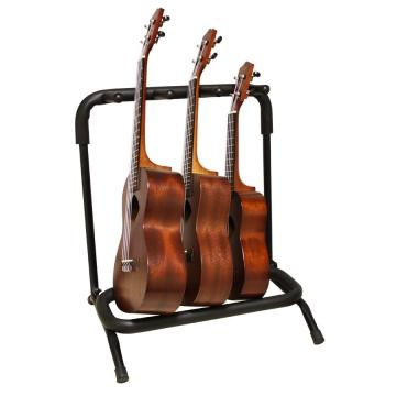 Bespeco 3-ukulelen teline