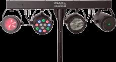 Ibiza Light DJ-85 valopaketti telineellä ja kaukosäätimellä
