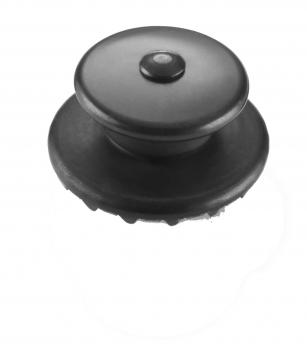 LOXX hihnalukot sähkökitaralle musta