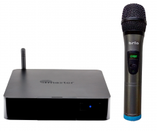 Brio K210 HDMi karaokemikseri langaton mikrofoni