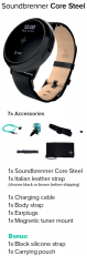Soundbrenner Core Steel Muusikon Smartwatch!