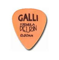 Galli  D51O - Delrin 0,60mm plektra
