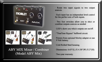 Morley ABY Mix reititin