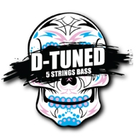 Galli D-tuned DB5viisikielisen bassokitaran kielet droppivireille
