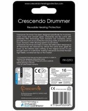CrescendoPRO Fcking Loud 25 (Drummer) korvatulpat, High-End