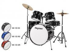 Hayman HM-100 mustat Rummut