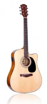 Farida D-12CE mikitetty teräskielinen kitara