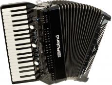 Roland FR-4X digiharmonikka musta/punainen piano