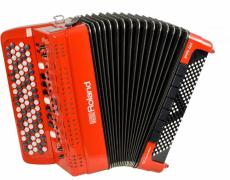 Roland FR-4XB digiharmonikka musta/punainen