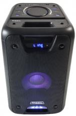 Ibiza Sound kannettava akkukäyttöinen 300W kaiutin+USB/SD/BT/MEGABASS