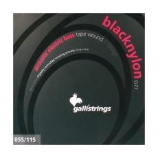 Galli G77 Black Nylon kielet akustiseen/sähköbassoon