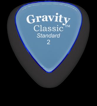 Gravity Picks Classic Standard 2.0 mm polished GCLS2P