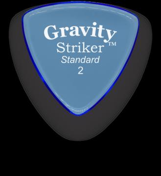 Gravity picks Striker Standard 2.0 mm polished GSRS2P