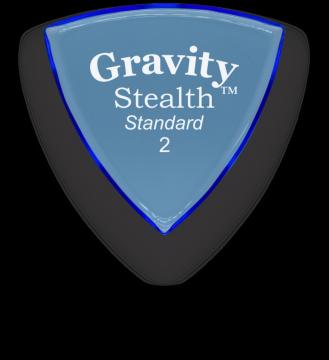 Gravity Picks Stealth Standard 2.0 mm polished GSSS2P