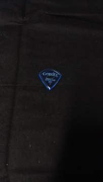 Gravity Picks Sunrise Mini Jazz 2.0mm Polished with Elipse Grip Hole GSUM2PE