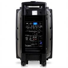 Ibiza Sound Kannettava akkukäyttöinen 400W kaiutin+langaton mikki/USB/SD+BT