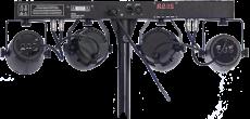 Ibiza Light DJ-60 valopaketti telineellä ja kaukosäätimellä