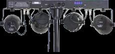Ibiza Light DJ-65 valopaketti telineellä ja kaukosäätimellä