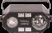 Ibiza Light 4in1 valo astro, waterwave, UV ja strobo ominaisuuksilla