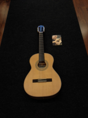 La Mancha Rubi 3/4 CM SN59 kapeakaulainen klassinen kitara