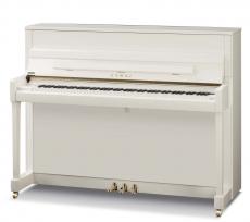 KAWAI K-200 piano kiiltävä valkoinen