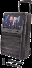Ibiza Sound TFT-12 karaokepaketti näytöllä/2x langaton mikki