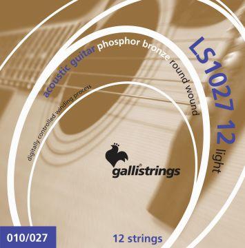 Galli Strings LS-1027 light 12-kielisen setti