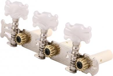 Kitaranvirityskoneisto klassiselle kitaralle kromi