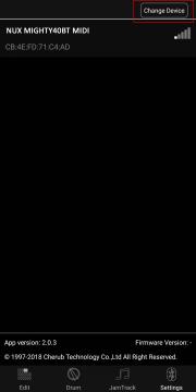 NUX Mighty 40BT mallintava Bluetooth kitaravahvistin