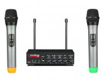 AudioDesign PMU 502M minimikseri kahdella langattomalla mikillä