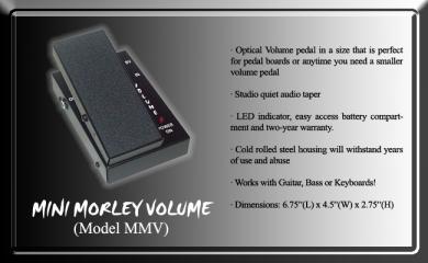 Morley MMV Mini volumepedaali