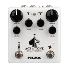NUX NDO-5 Ace of Tone Dual Overdrive Effects pedal