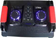 "Party 500W 2x10"" aktiivikaiutin BT/FM/USB/BT"