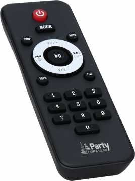 """Party 500W 2x10"""" aktiivikaiutin BT/FM/USB/BT"""