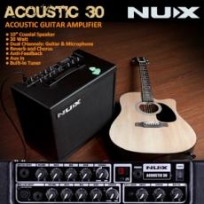 NUX AC-30 akustinen vahvistin