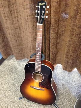Farida OT-62VBS Old Town Slope Shoulder teräskielinen kitara