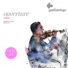 Galli Ouverture 3/4 viulun kielet