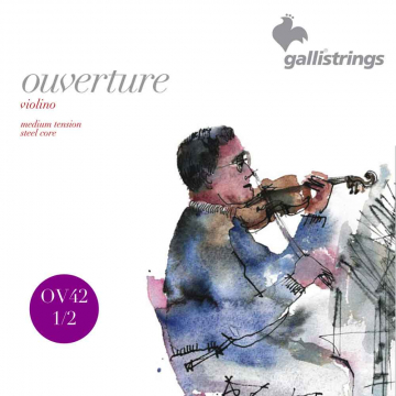 Galli Ouverture 1/2-viulun kielet