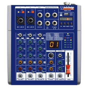 Audio Design Pro PAMX 1211 USB-mikseri FX/BT