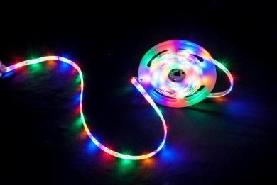 Party Light & Sound RGBA 3m matalan profiilin LED-nauha