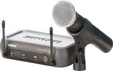Shure PGX24E/SM58 langaton mikrofonijärjestelmä