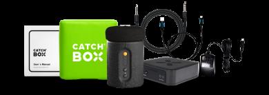 Heitettävä langaton mikrofoni Catchbox Plus